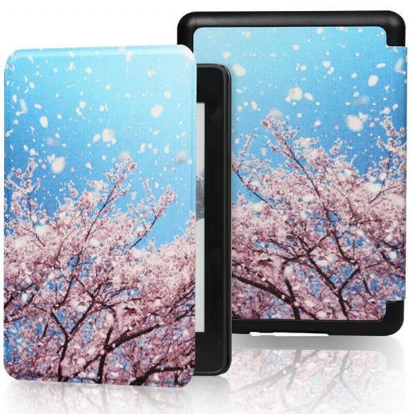 Kindle Paperwhite Art Case Cover Cherry Blossom